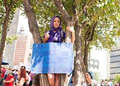Silencio = Complicidad. (Yamileth Ruiz Avia) Tags: woman mujer women mujeres feminist feminists feministas 24a feminista marchafeminista vivasnosqueremos