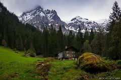 Lonely Chalet - Einsames Chalet (Jrme Wyss Photography) Tags: mountain storm alps clouds schweiz switzerland spring hiking berge chalet bern alpen berne deserted wandern verlassen frhling sturm lenk simmental simmenflle