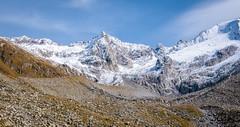 Zillertal_061  Vom Schlegeisspeicher zum Furtschaglhaus (wenzelfickert) Tags: schnee sky snow mountains landscape austria tirol sterreich hiking himmel glacier berge gletscher wandern zillertaleralpen bergmassiv