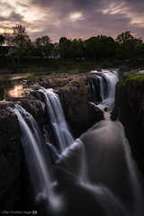 Great Falls of NJ (RyanKirschnerImages) Tags: longexposure sunset nature sunrise landscape waterfall newjersey greatfalls nj paterson
