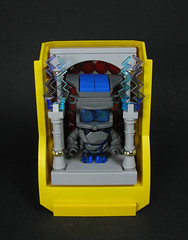 Gargantua (Karf Oohlu) Tags: lego vignette mecha droid bot moc rockmonster dumptrucktray