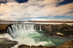 Now is the time the old gods return (OR_U) Tags: longexposure water river waterfall iceland spring rocks may le oru 2016 blueoystercult goafoss waterfallofthegods skjlfandafljt