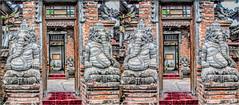 Doors 3D (Bruno Zaffoni) Tags: bali indonesia stereophotography 3d lovina stereoscopy stereoscopia