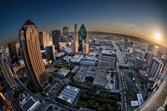Set_4_Merged.jpg (kyle.goyer) Tags: park city sunset night skyscraper buildings lights dallas downtown cityscape warren klyde