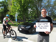 Kelowna Cycle launches my driving pledge - Pat Rosen