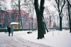 .lost and lonely. (Camila Guerreiro) Tags: snow film analog grain ukraine agfa kiev pentaxmesuper camilaguerreiro agfavistaplus200