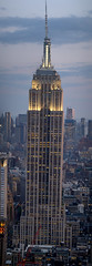 Panorama Empire State Building New York viewed from Rockefeller Centre 70th floor (neeravbhatt) Tags: from new york panorama building floor state centre empire rockefeller 70th viewed