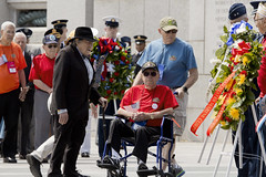 VE Day 2016 At The WWII Memorial  (402) (smata2) Tags: monument washingtondc dc memorial warmemorial veday nationscapital nationalworldwartwomemorial wwiiveteransremembrance