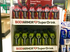 "BodyArmor Sports Drink, ""Super Drink"" 5/2016, pics by Mike Mozart of TheToyChannel and JeepersMedia on YouTube #BodyArmor #Sports #Super #Drink (JeepersMedia) Tags: sports drink super bodyarmor"