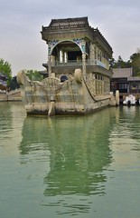 The Marble Boat...with reflection (stevelamb007) Tags: china nikon beijing summerpalace marbleboat nikkor18200mm stevelamb d7200