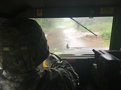 Virginia National Guard (The National Guard) Tags: 116ibct 2016virginiafloods flood soldier vaarng alleghenycounty virginia unitedstates us va vang ng nationalguard guardsman guardsmen army united states usa america damage assessment weather severe flooding water roads military troops soldiers humvee light tactical vehicles