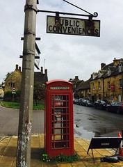 Merrie Olde England (tmvissers) Tags: street uk red england english public booth box telephone cotswolds chipping campden conveniences