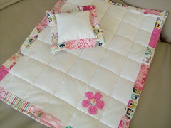 Pink-twin-quilt_000026 (irina_vykhrestiuk) Tags: modern quilt handmade homemade twin kid child patchwork bedding bed quilting memory throw
