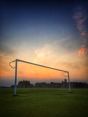 Ambitious goals make for outstanding achievements... (spideysenses77) Tags: life school light sunset sky cloud sun seascape love beach apple nature beautiful beauty field sunshine sport architecture night clouds work wow dark skyscape landscape fire evening coast football seaside goal amazing education phone outdoor walk soccer angles sunny goals stunning cloudscape cloudporn ablaze iphone skyporn iphoneography iphoneonly