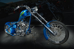 "Chopper ""Rattle Snake Shake"" (2016 Schroader's Honda Bike Show) (*Ken Lane*) Tags: usa bike wheel geotagged cool chopper parkinglot unitedstates asheville awesome northcarolina tire flashphotography motorbike stunning motorcycle vehicle asphalt strobe bikeshow avl wnc nikkorlens bwfilter custommotorcycle westernnorthcarolina exposureblending buncombecounty vehculo vhicule venable neutraldensityfilter automotivephotography strobist strobing wirelesstrigger nd8filter singlestrobe bwndfilter paulcbuff nikon2470 nikond800 paulcbuffinc cybersync multipleexposureblending cybersynctriggertransmitter 3stopndfilter rattlesnakeshake lightenblendmode carshowphotography 22inchbeautydish einstein640 reallyrightstufftripod photoshopcs6 vagabondminilithium einsteinstrobe photoshoplayermasking einstein640strobe ashevilleoutlets einsteinstrobe640ws elinchromelhandheldboomarm geo:lat=3552791518 geo:lon=8260507197 sidandelcdwirelesstimelapseintervalometerremotecontrol vehiclestrobing cybersynctransceiver 2016schroadershondabikeshow"