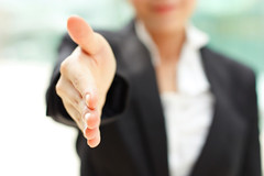 extended-hand-ThinkstockPhoto (sarahmepstein) Tags: thinkstock handshake hand extended friendly colleague business businesswoman professional executive important power powerful