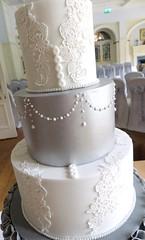 Grey Ruffle Back Dress Buttons (A Cherry On Top Scotland) Tags: wedding white love cake scotland fife weddingcake sparkle perth piping vows shimmer ruffle burntisland tiered cherryontop clairesara bespokeweddingcake cakelace openruffle dressdetailing vowswinner silverpaintedtier solsgaithhousehotel greyruffle