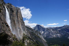 Yosemite National Park, California (everettcarrico) Tags: summer sky mountains waterfall spring halfdome yosemitefall