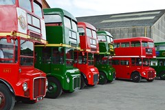 Routemaster (PD3.) Tags: 2 3 bus london buses museum vintage 1 coach 4 transport surrey trust routemaster preserved 56 slt 57 59 preservation rmc psv pcv crl 58 brooklands rm rm1 2016 aec 585 rm2 rm3 rm4 slt58 slt56 rmc4 slt59 lbpt slt57 crl4 rm585 cobhaml