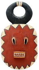 10Y_0916 (Kachile) Tags: art mask african tribal ctedivoire primitive ivorycoast gouro baoul nativebaoulmasksaremainlyanthropomorphicmeaningtheydepicthumanfacestypicallytheyarenarrowandfemininelookingincomparisontomasksofotherethnicitiesoftenfeaturenohairatallbaoulfacemasksaremostlyadornedwithvarioustrad