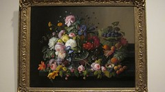 Still Life: Flowers and Fruit (karlsbad) Tags: newyork museums themet newyorkny metropolitanmuseumofart themetropolitanmuseumofart karlsbad theamericanwing karlschultz january2012