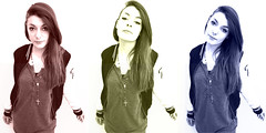 """""""Shaped Twins"""" (Kenny Volodimer) Tags: colors girl fashion twins triptych shaped"""