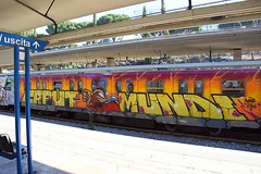 Rome train teaser (STEAM156 PHOTO KING !) Tags: rome graffiti trains steam156 wwwaerosolplanetcom