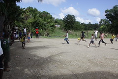 Football for the Boys (Alan & Jackie) Tags: kids football dominicanrepublic saman sosua
