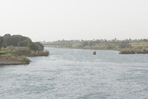 The Nile islands in Aswan