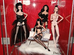 Lingerie Ladies (Ms. Meow) Tags: dolls lingerie veronique fr dasha fr2 fashionroyalty luchia dressme luchiaz intimatelyacquainted alwayspolished moderncomeback