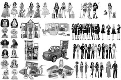 My Barbie 2011-2012 Wishlist Fulfilled (Jacob_Webb) Tags: barbie list wish fulfilled