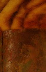 Dyeing - Rust - Hallstatt Farben - Naturhistorisches Museum Wien (hedbavny) Tags: vienna wien red color rot art wool rouge austria österreich rust kunst rusty tint naturalhistory dye dyeing rost metall rosso farbe weaving weber rostig tapestry ausstellung handwerk geschichte naturhistorischesmuseum bewerbung wolle tapisserie forschung kunstlicht hallstatt exponat kunsthandwerk adom dyeworks naturhistorischesmuseumwien weben naturaldye wienvienna handwerkskunst färben österreichaustria prähistorisch sonderausstellung naturfarben naturgeschichte ausstellungstück ingid teppichweber naturhistorischesmuseumderstadtwien hallstattfarben dyeingtechnique hedbavny naturfärbung