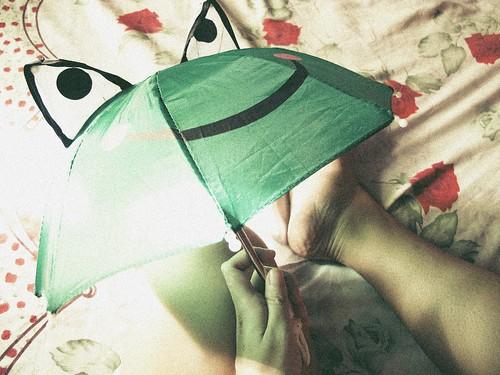 44/366: Remember Those Tiny Folding Umbrellas?