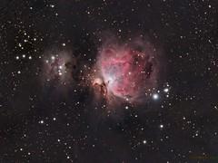The Great Orion Nebula (Mickut) Tags: ngc1977 thegreatorionnebula messier42 Astrometrydotnet:status=solved messier43 Astrometrydotnet:version=14400 komakallio sxvrh18 therunningmannebula tsquad65 Astrometrydotnet:id=alpha20120311906949