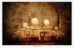 Sheikh Zayed Grand Mosque II (Damon | Photography) Tags: building texture monochrome mono nikon islam uae sigma grand mosque textures chrome zayed abudhabi ii mm nikkor build abu dhabi sheikh islamic architacture d90 sigma70300mm nikkor70300mm nikond90
