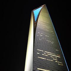 Shangai Financial Centre. - Photoroca