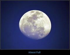Almost Full (ShacklefordPhotoArt) Tags: sky moon home florida space boyntonbeach
