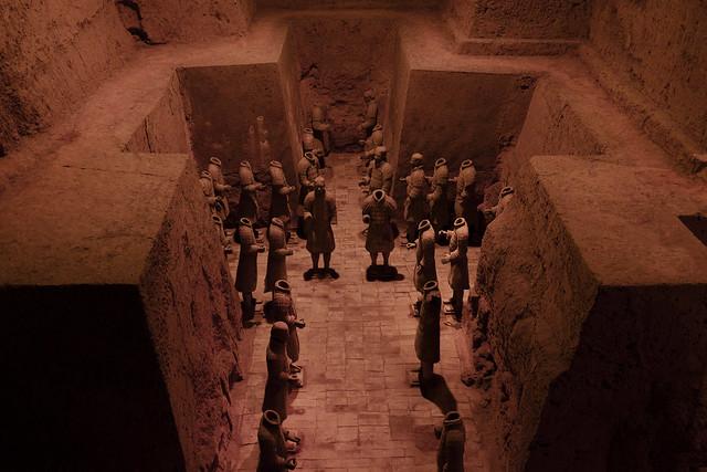 Mausolée du premier empereur Qin // Mausoleum of the First Qin Emperor