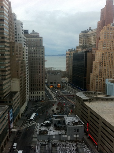 View from 2 Rector Street, New York
