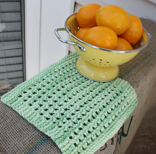 Ravelry Lacy Knit Dishcloth Pattern By Dishcloth Boutique