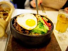 Stone Bowl Bi Bim Bab (Taz Spin) Tags: food chinatown chinese korean joyyeesnoodleshop microfourthirds