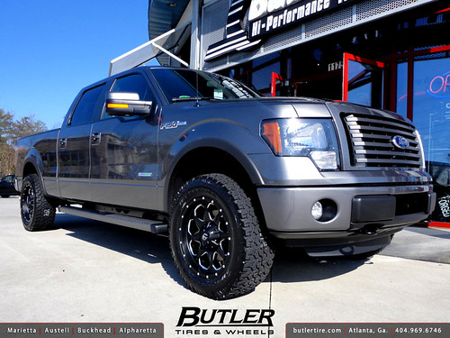 2012 Ford F 150 With 20in Fuel Boost Wheels And 2in Level Kit A