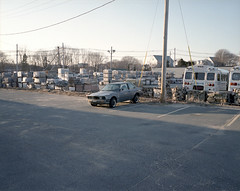 Salem, MA. (Brian Maryansky) Tags: film car mediumformat jack bmw works motor 6x7 e30 beemer bavarian 3series mamiya7