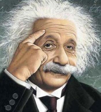 2- البرت اينشتاين