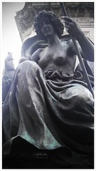 Detail of Victoria Statue in Hull