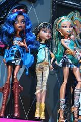 Toy Fair 2012 Monster High 38 (IdleHandsBlog) Tags: toys dolls horror monsters mattel collectibles fashiondolls monsterhigh toyfair2012