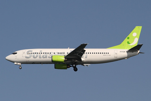 Solaseed Air B737-400(JA392K)