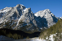 Mount Kidd, Kananaskis Country, Alberta, Canada (madlyinlovewithlife) Tags: mountain mountains kananaskis country rocky canadian mountainroad mountkidd mtkidd
