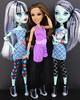 frankie~rocky~frankie (Laila X) Tags: monster high doll dolls disney frankie vip stein mattel datm dayatthemaul shoecomparison