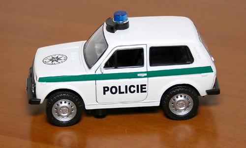 Autotime Lada Niva Polizia Ceca